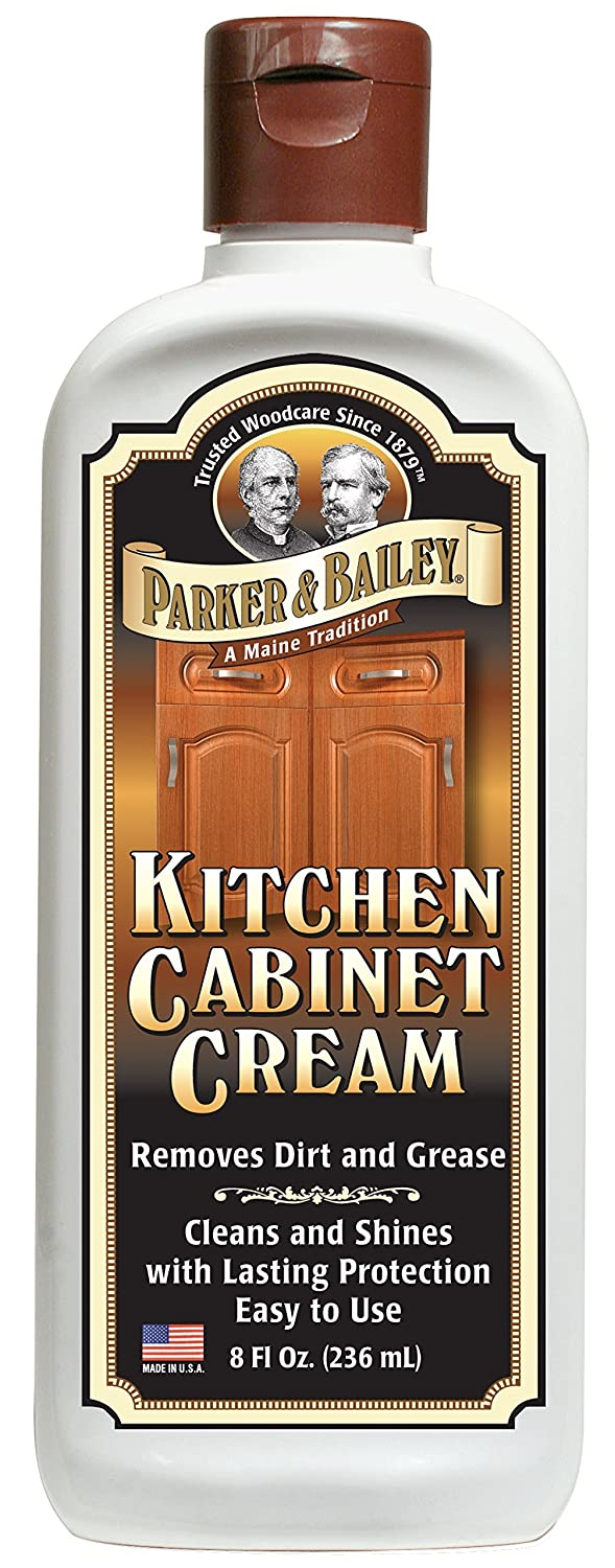Amazoncom Parker Bailey Kitchen Cabinet Cream Oz Everything Else - How to clean grease off kitchen cabinets
