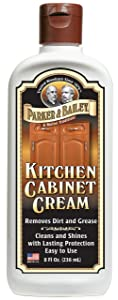 Parker & Bailey Kitchen Cabinet Cream 8oz, 8 ounces, White
