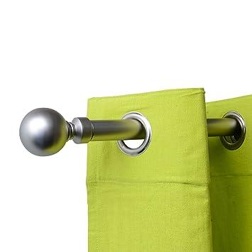 Esphère Kit tringle extensible de 210cm à 380 cm coloris argent mat ...