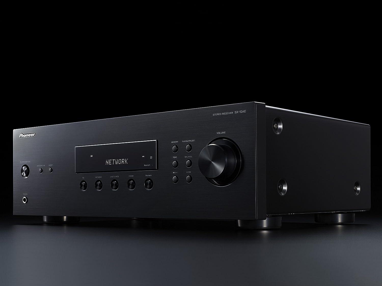 Pioneer SX-10AE-B - Receptor de Audio, Color Negro