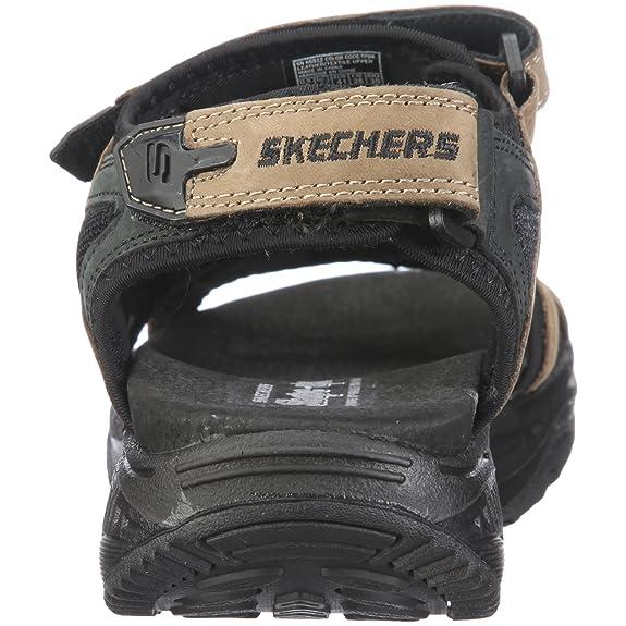 Skechers Shape ups XW Relaxer 66512 TPBK Herren Sandalen
