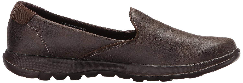 Skechers Damen Gowalk Lite Queenly Slip On Schuhe Chocolate