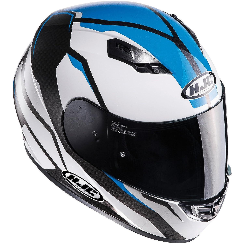 C5SFXS MC4H HJC CS-15 Sebka Motorcycle Helmet XS Fluo