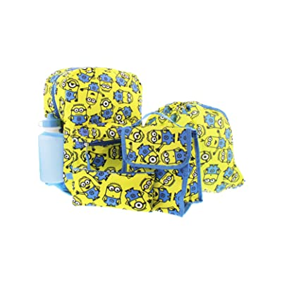 Despicable Me Minions 5 piece Backpack School Set | Kids' Backpacks