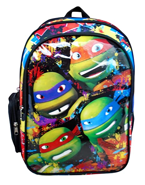 Montichelvo Tortugas Ninja Together Mochila Adaptable Carro, 43 x 30 x 14 cm, Color