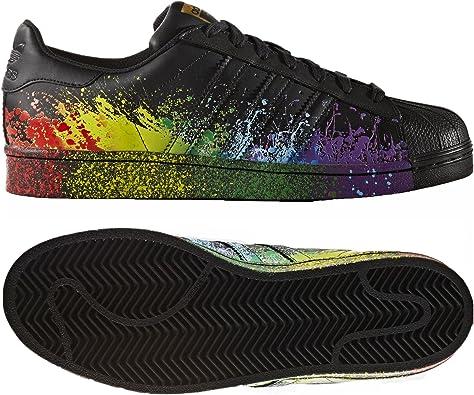 adidas superstar lgbt black
