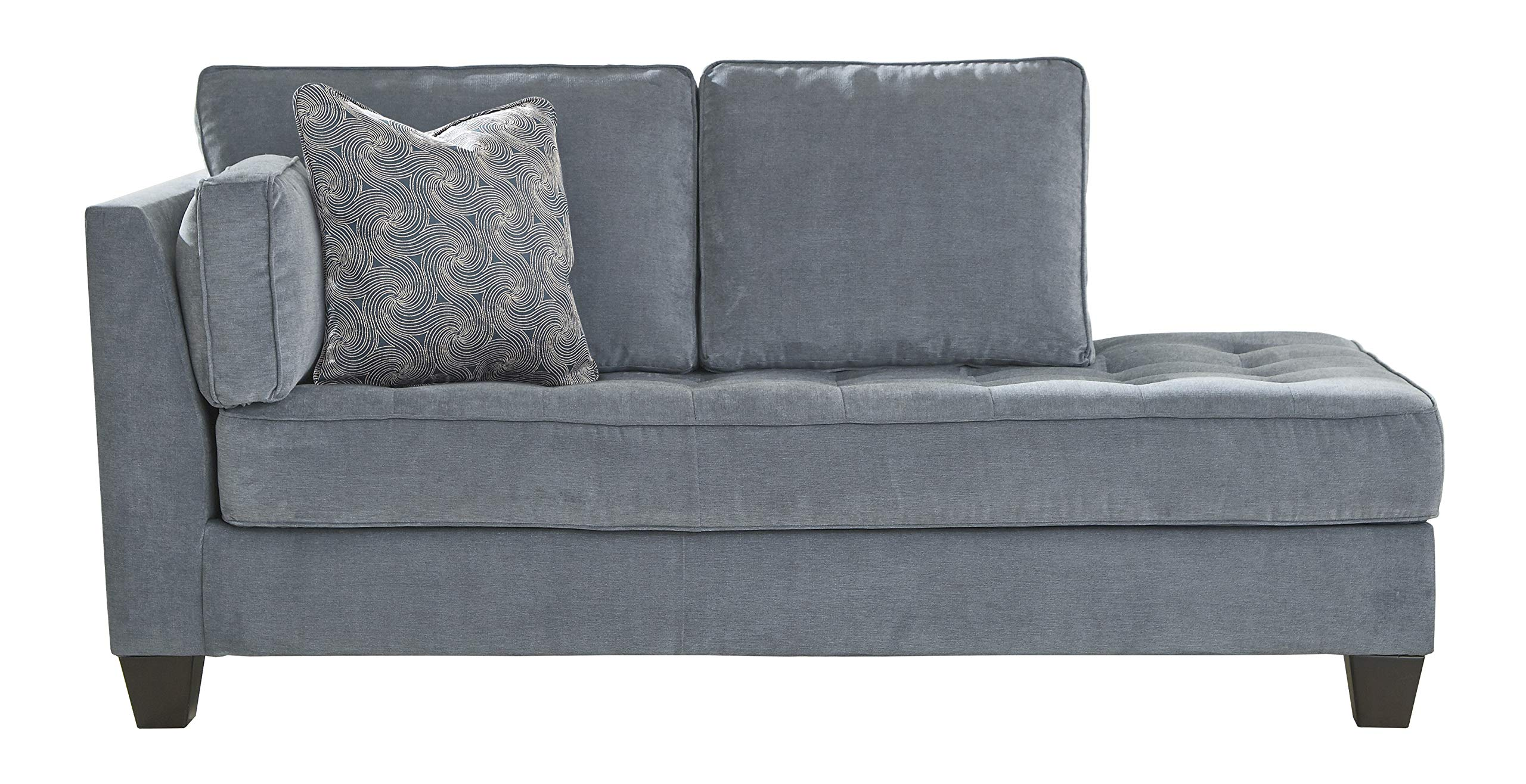 Signature Design by Ashley Sciolo Left Arm Facing Corner Chaise, Cobalt by Signature Design by Ashley
