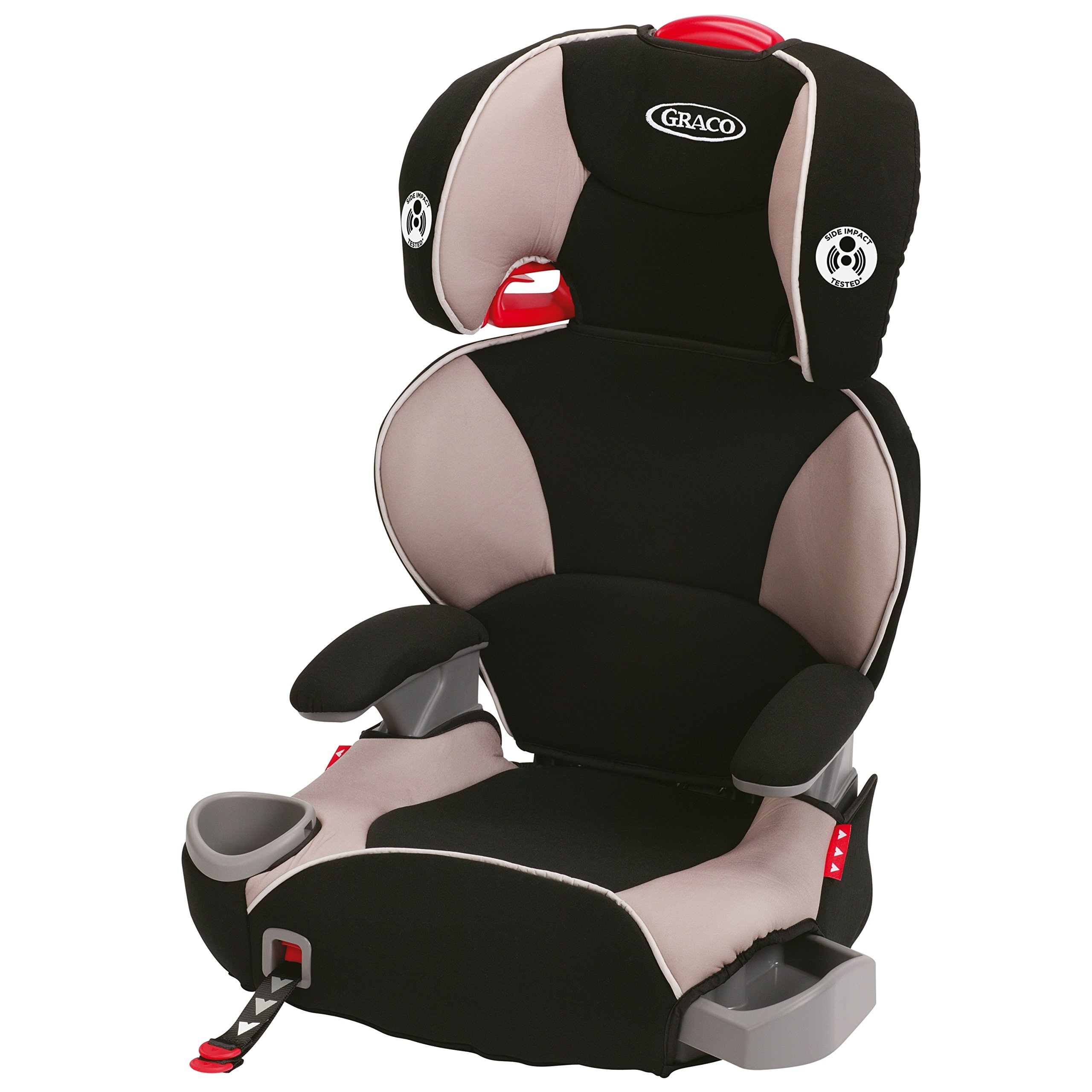 Graco Affix Highback Booster Car Seat with Latch System, Pierce, One Size