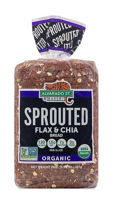 Alvarado Street Bakery USDA Organic Sprouted Wheat Flax and Chia Bread