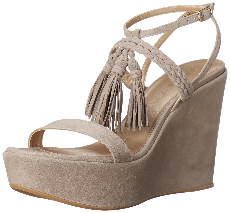 Stuart Weitzman Women's TASSPARLOUR Wedge Sandal B011UV56ZG 10 B(M) US|Fossil