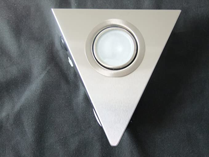Halogen triangolo sottopensile con interruttore 20 w con cavo