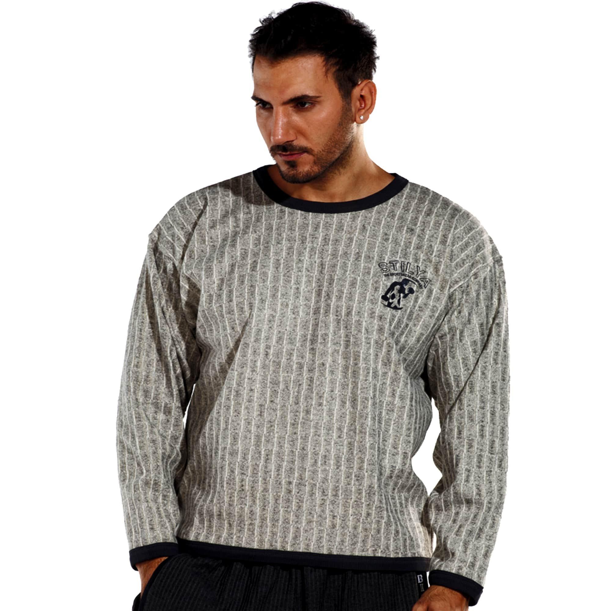 STILYA SPORTSWEAR COMPANY Men's Sweatshirt Sweater Hoodie *6700* 5XL Beige