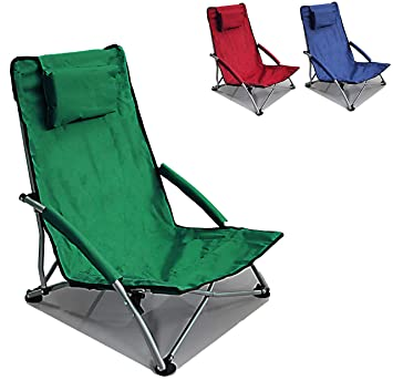 Amazon.com: Hello Journey - Silla de playa plegable: Sports ...