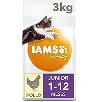 IAMS Vitality Junior Kattenvoer, Droog, 3 kg