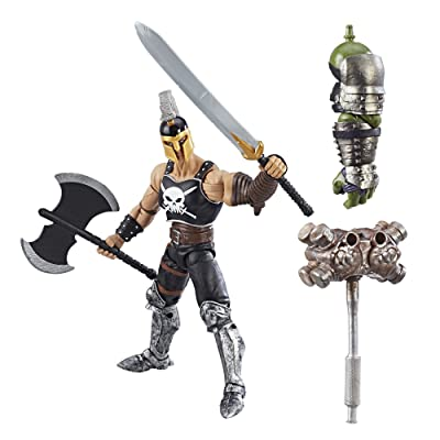 Marvel Thor Legends Series 6-inch Nine Realms Warriors (Marvel's Ares): Toys & Games
