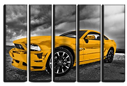 Amazon Com Hotel Arizona Hd Large Set Muscle Car Picture Wall Art