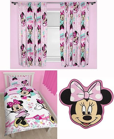 Minnie Mouse Handmade Single Duvet Bedding Set, Matching 66\
