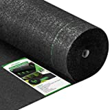 Amagabeli 5.8oz 3ft x 100ft Weed Barrier Landscape Fabric Heavy Duty Ground Cover Weed Cloth Geotextile Fabric Durable Drivew