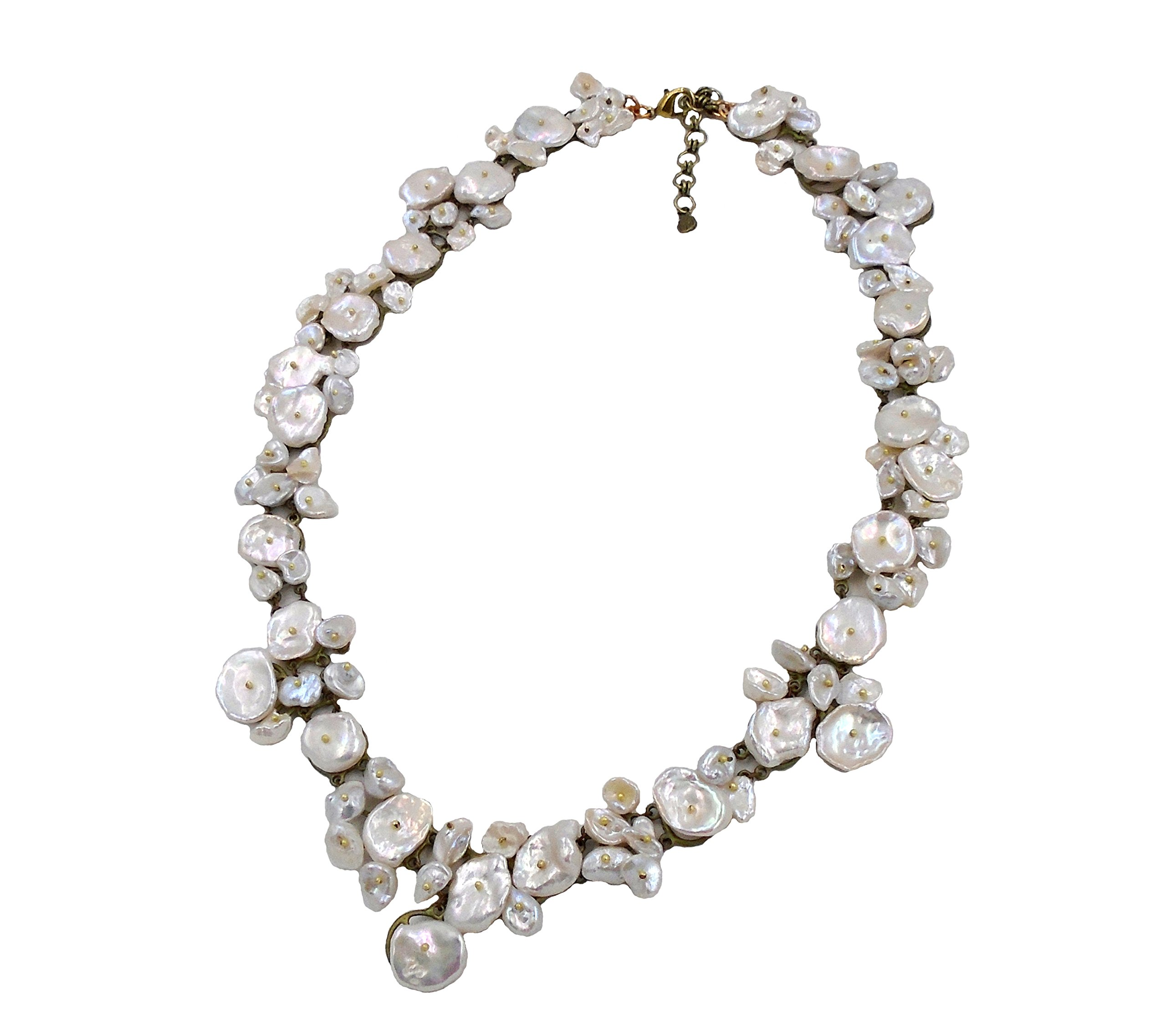 Michael Michaud Silver Dollar Statement Necklace by for Silver Seasons…