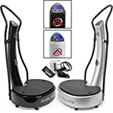 Axis-Plate Dual Motor - Whole Body Vibration Platform - Training And Vibrating - Exercise Fitness Machine