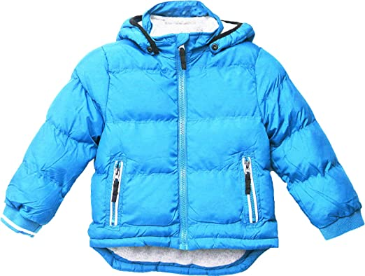 29ef74d6f7e3 Baby Padded Jacket Quilted Coat Boys Girls Kids 1-5 year Hooded ...