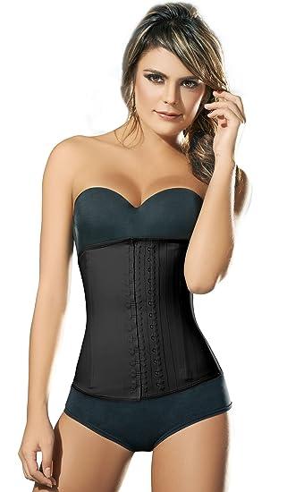 d3a48997d7 Amazon.com  Ann Chery 2025 Classic Latex Waist Cincher Black