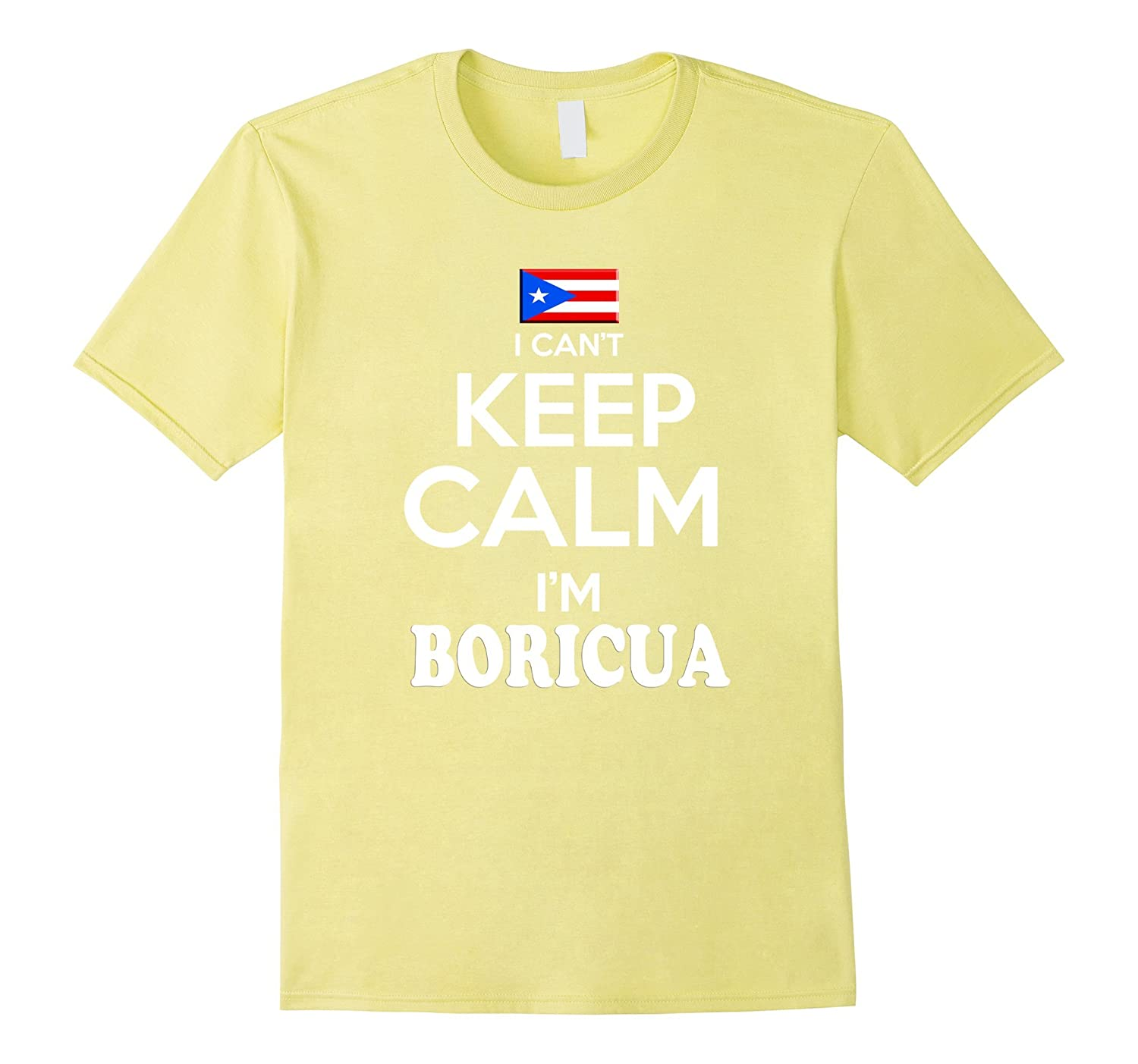 Amazon.com: Puerto Rico Keep Calm Boricua tshirt Puerto Rican Camiseta: Clothing