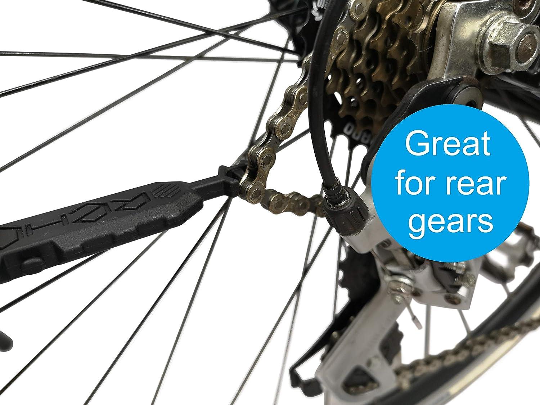 Vuelva a enganchar Su cadena en su bicicleta en 3 segundos. Sin el ...
