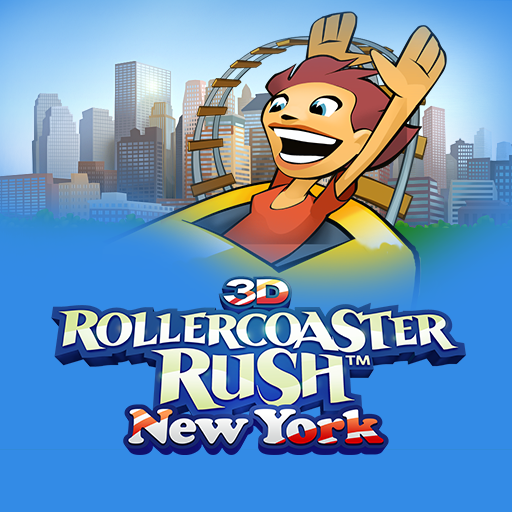 3D Rollercoaster Rush New York - Coaster Chocolate