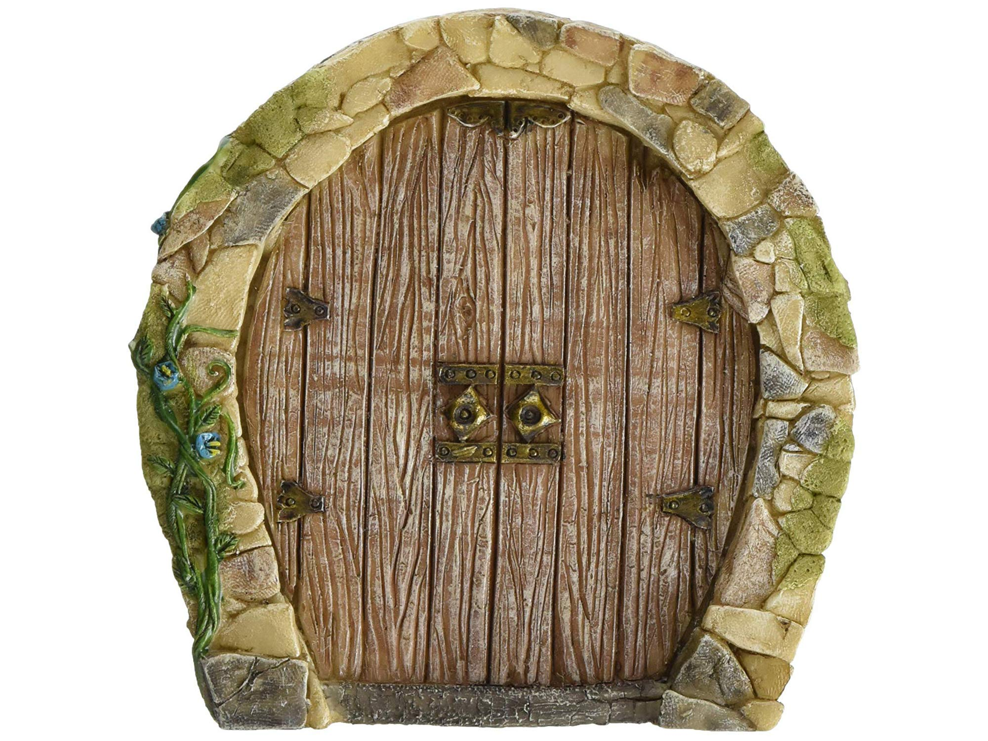 Tоp Cоllеctiоn Home Decor Miniature Fairy Garden Enchanted Gnome Home Door by Tоp Cоllеctiоn