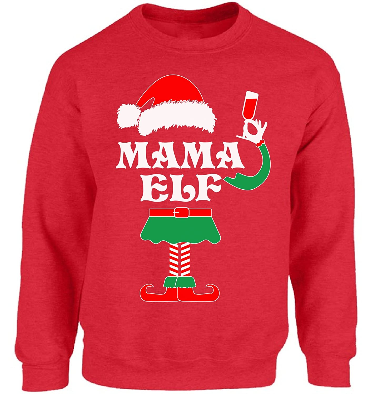 Amazon.com: Vizor Mama Mama sudadera de elfo disfraz de elfo ...