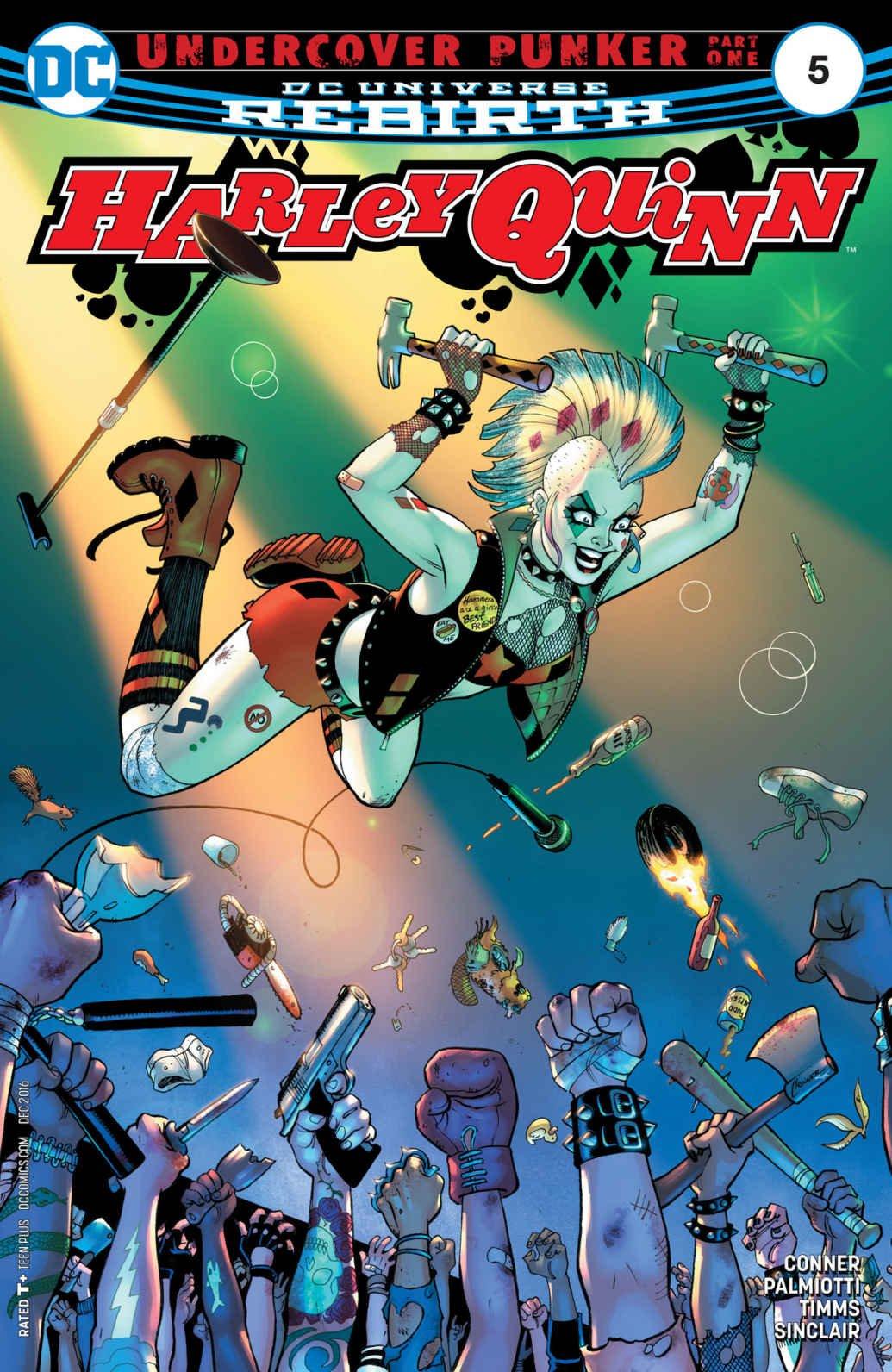 DC Universe Rebirth Harley Quinn #5 2016 pdf epub