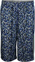 Nike Youth Boys Fly Allover Print Graphic Shorts Grey/Blue