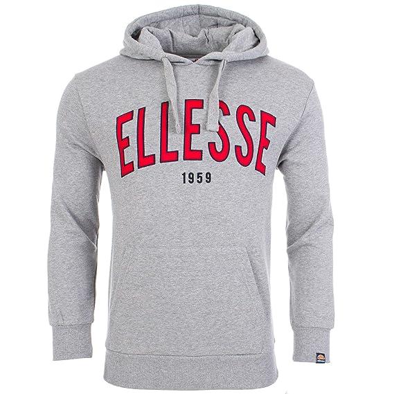 74b8863fc ellesse Novit Overhead Hoodie S Grey: Amazon.co.uk: Clothing