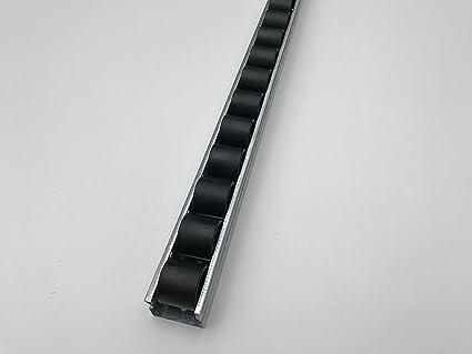 Amazon com: Roller Track Flow Rail Roller Gravity Conveyor
