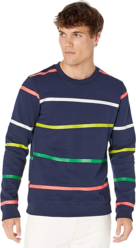 Scotch /& Soda Mens Crew Neck Sweat with Different All Over Prints