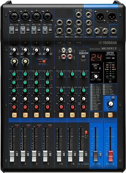 Yamaha MG06X - Mezclador analógico: Amazon.es: Instrumentos musicales
