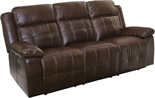 New Classic Furniture Clayton Full Power Dual Recliner Sofa