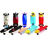 Wooden Meteor Retro Cruiser Board Longboard Skateboard Skate Skater Complete Sport City Style