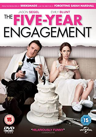 The Five Year Engagement 2012 UNRATED BluRay 480p 400MB Dual Audio ( Hindi – English ) MKV