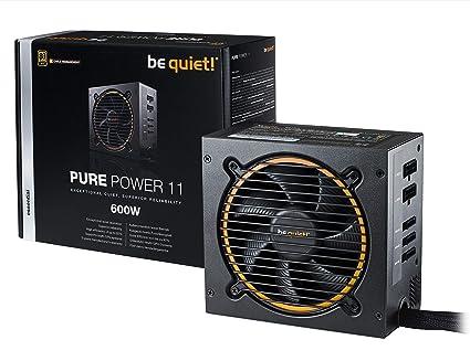 be quiet! Pure Power 11 600W CM Unidad de - Fuente de alimentación (600 W, 100-240 V, 650 W, 50-60 Hz, 8 A, Activo)