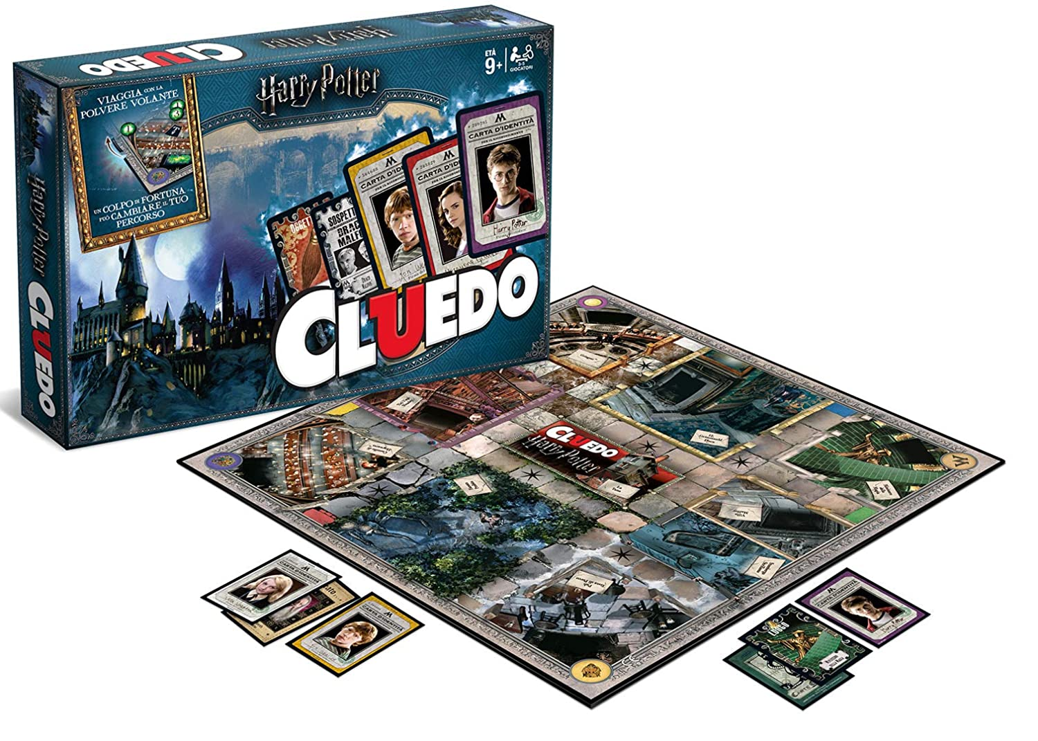 Winning Moves Games Harry Potter Cluedo Mystery Board Game