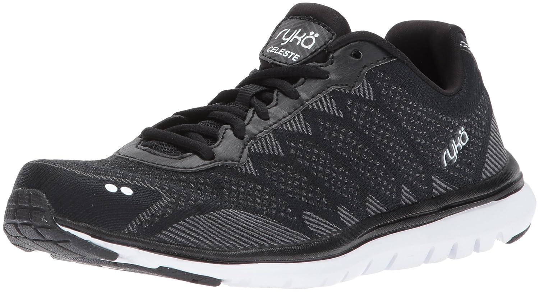 Ryka Women's Celeste Walking Shoe B01MAWSAO3 6.5 B(M) US|Black/Grey