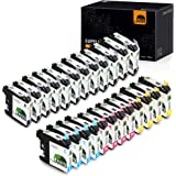 JARBO Compatible Ink Cartridge Replacement for Brother LC103XL, 4 Color, (12 Black, 4 Cyan, 4 Magenta, 4 Yellow), for Brother MFC J870DW J450DW J470DW J650DW J4410DW J4510DW J4710DW J6720DW
