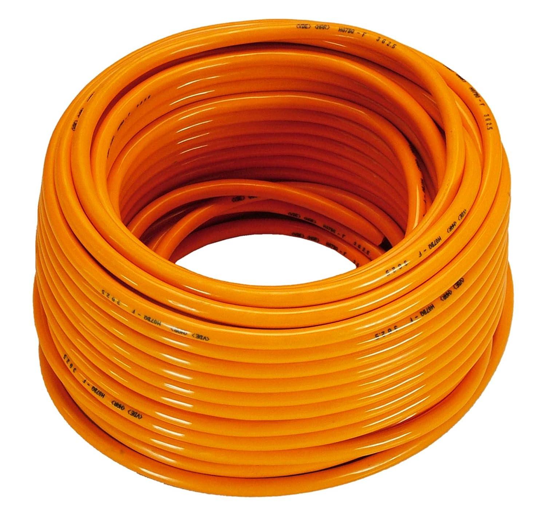 as - Schwabe 59441 Baustellenkabel-Ring 230V 16A, 50m H07BQ-F 3G2,5, orange, IP44 Gewerbe, Baustelle