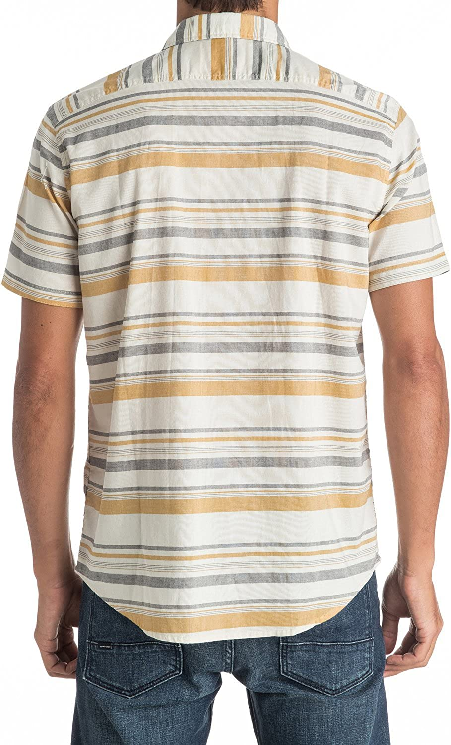 Quiksilver Mens Aventail Short Sleeve Woven Top