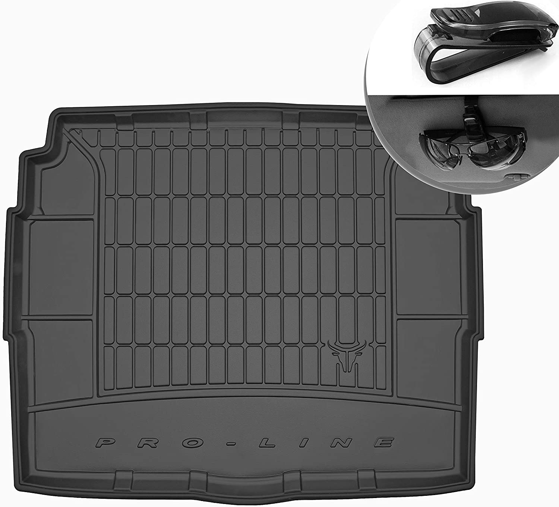 Frogum Alfombrilla de Goma 3D Inserto Flexible para el Maletero del autom/óvil 1 Pieza de Goma el/ástica Negra El tapete se Adapta Perfectamente para Citroen C5 Aircross de 2019