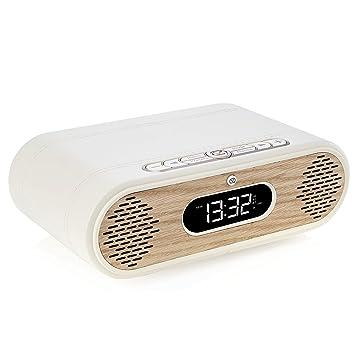 Radio-Despertador y Altavoz Bluetooth Rosie-Lee con ...