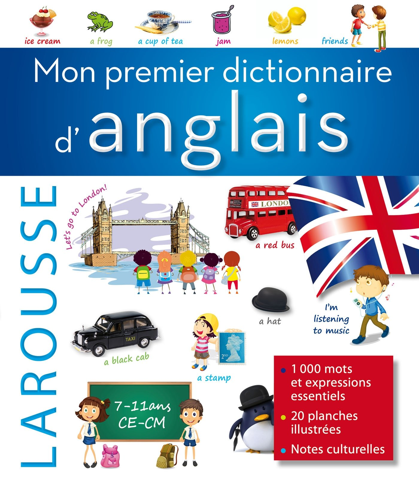 Mon Premier Dictionnaire D Anglais Larousse My First English Dictionary Bilingue Anglais Collectif Larousse 9782035889300 Amazon Com Books