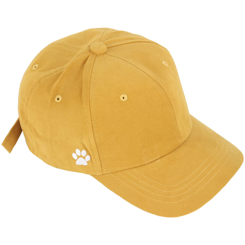 RaOn B234 Cute Cat On The Line Design Cats Footprint Strap Cap Baseball Hat Truckers